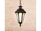Уличный подвесной светильник Elektrostandard Draco H GL 1010H (капучино, классика)