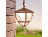 Уличный подвесной светильник Elektrostandard Gala H брауни (коричневый, кантри)