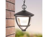 Уличный подвесной светильник Elektrostandard Gala H (черный, кантри)