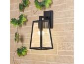 Уличный настенный светильник Elektrostandard Germes D (модерн, черный)