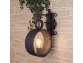 Уличный настенный светильник Elektrostandard Imperial D 4690389115325 (кантри, черный)
