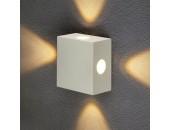 Уличный настенный светильник Elektrostandard 1601 TECHNO LED Kvatra белый