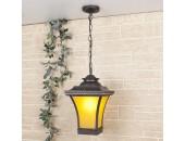 Уличный подвесной светильник Elektrostandard Libra H (кантри, венге)