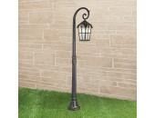 Уличный наземный светильник Elektrostandard Mira F (классический, черное золото)