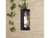 Уличный подвесной светильник Elektrostandard Premier H 4690389115219 (черный, кантри)