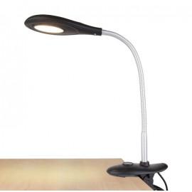 Настольная лампа на прищепке Elektrostandard TL90300 Captor LED (модерн, черный)