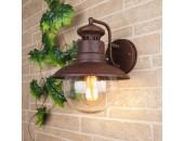 Уличный настенный светильник Elektrostandard Talli D GL 3002D брауни (кантри, коричневый)