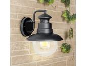 Уличный настенный светильник Elektrostandard Talli D GL 3002D (кантри, черный)