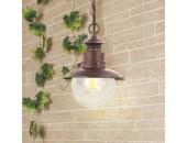 Уличный подвесной светильник Elektrostandard Talli H GL 3002H брауни (кантри, коричневый)