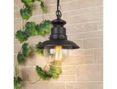 Уличный подвесной светильник Elektrostandard Talli H GL 3002H (кантри, черный)