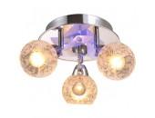 Светильник с пультом ДУ IDLamp Azzerra 200/3PF-Chrome со светодиодами Led