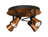 Люстра потолочная спот Lussole Loft LSL-6801-04