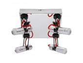 Светильник потолочный спот Lussole Loft LSP-9925 Esma хром