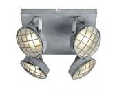 Светильник потолочный спот Lussole Loft LSP-9981 серый