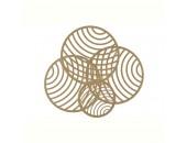 Светильник настенно-потолочный Mantra Colladge MN 7231 (золото, модерн)