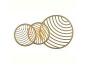 Светильник настенно-потолочный Mantra Colladge MN 7233 (золото, модерн)