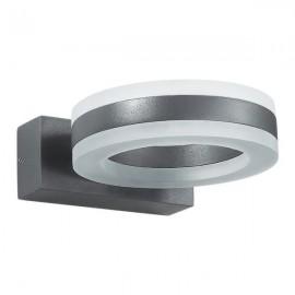 Ландшафтный светодиодный настенный светильник Novotech 357398 KAIMAS серый