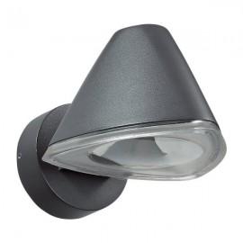 Ландшафтный светодиодный настенный светильник Novotech 357399 KAIMAS серый