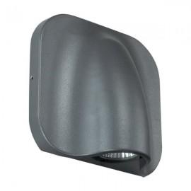 Ландшафтный светодиодный настенный светильник Novotech 357414 KAIMAS серый