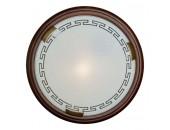 Светильник настенно-потолочный Sonex/Сонекс 160 Greca Wood (модерн, бронза)