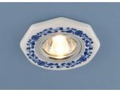 Точечный встраиваемый светильник Elektrostandard 9033 WH/BL (модерн, белый)