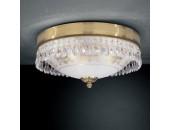 Светильник потолочный PL 6100/3 (классический, золото)