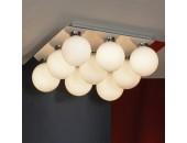 Люстра потолочная влагозащищенная Lussole LSQ-8907-09 Malta (модерн, хром)
