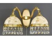 Бра Reccagni Angelo A 6306/2 (классический, золото)