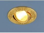 Точечный встраиваемый светильник Elektrostandard 120090 GD (модерн, золото)