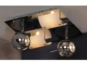 Светильник спот Lussole LSN-4601-04 Ticino (хай-тек, хром)