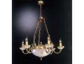 Люстра Reccagni Angelo L 4750/6+2 (классический, золото)
