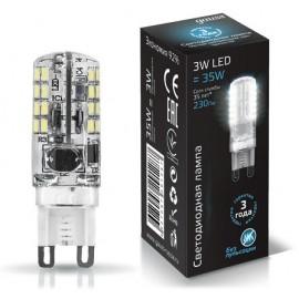 Светодиодная лампа Gauss LED SS107709203 G9 3W 4100K
