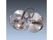Светильник спот Odeon Light 1429/1W Bolla nickel (модерн, хром матовый)
