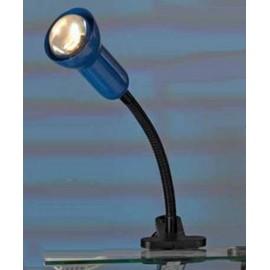 Настольная лампа прищепка Lussole LST-4524-01 (модерн, голубой)