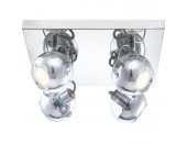 Светильник спот GLOBO 57880-4 (хай-тек, хром)