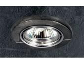 Точечный встраиваемый светильник Novotech 369282 Stone (модерн, хром)