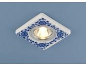 Точечный встраиваемый светильник Elektrostandard 9034 WH/BL (модерн, белый)