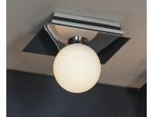 Светильник влагозащищенный Lussole LSQ-8901-01 Malta (модерн, хром)
