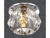Точечный встраиваемый светильник Novotech 369725 Arctica (модерн, хром)