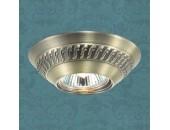 Точечный встраиваемый светильник Novotech 369658 Wind (модерн, бронза)