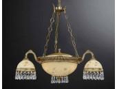 Люстра подвесная Reccagni Angelo L 6306/3+3 (классический, золото)