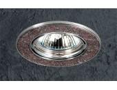 Точечный встраиваемый светильник Novotech 369284 Stone (модерн, хром)
