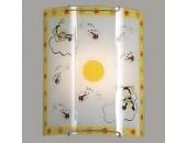 Бра Citilux CL921005 Пчелки (модерн, хром)