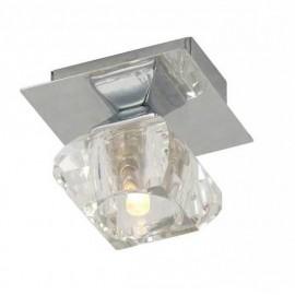 Светильник настенно-потолочный GLOBO 5692-1 (модерн, хром)
