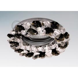 Точечный встраиваемый светильник Lightstar 030374 Onora Grigio (модерн, хром)