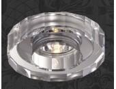 Точечный встраиваемый светильник Novotech 369412 Cosmo (модерн, хром)