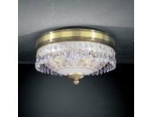 Светильник потолочный Reccagni Angelo PL 6000/2 (классический, бронза)