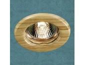 Точечный встраиваемый светильник Novotech 369713 Wood (модерн, дерево)