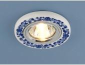Точечный встраиваемый светильник Elektrostandard 9035 WH/BL (модерн, белый)