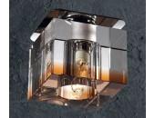 Точечный встраиваемый светильник Novotech 369297 Aquarelle (модерн, хром)